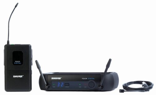 Shure PGXD14/93-X8 Digital Lavalier Wireless System with WL93 Lavalier Microphone