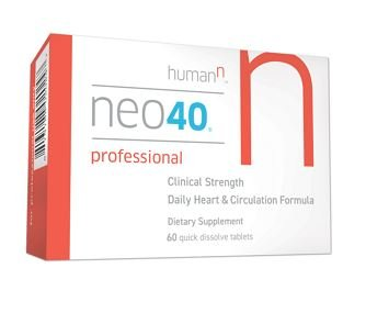 Neo40 Professional – Nitric Oxide Booster with Methylfolate – Natural Blood Pressure Supplement – May Help Support Healthy Blood Pressure, Circulation and Cardiovascular Health – 60 Tablets