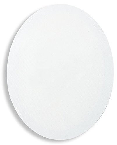 Fredrix 5406 16 by 20-Inch Oval Stretched Canvas [並行輸入品]   B07T8PHX1G