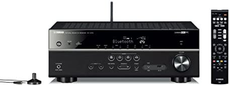 Yamaha RXV579 Black 7.2-Channel Wi-Fi Network AV Receiver with Bluetooth