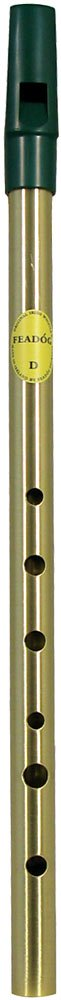 Feadog Brass Irish Penny Whistle - Key of D