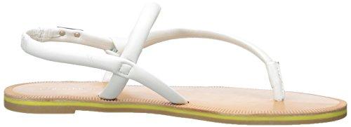 Punta Rosa Alisia Bianco Donna Anello Klein Calvin Platino Sandalo 8CqwZEW7x