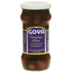 Goya Peruvian Olives De Botija, 7.4-Ounce Units (Pack of 6)