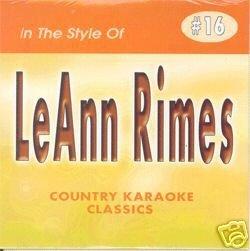 LEANN RIMES Country Karaoke Classics CDG Music CD by Country Karaoke Classics