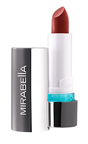 Mirabella Colour Vinyl Gloss Full-Coverage Moisturizing Lipstick - Mulberry Mocha, 2.2g/0.08oz (Lipstick Light Mocha)