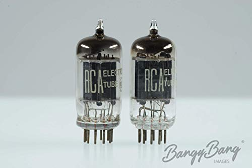 Platinum Matched RCA 12AU7/ECC82/5814 Black Plate Audio Tube- BangyBang -