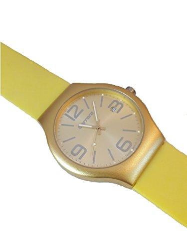 Carrera Wrist Watch (Carrera watches Allumino Yellow watch)