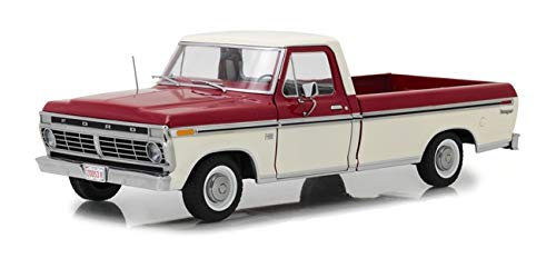 Greenlight 12962 1: 18 1972 Ford F-100 Truck - Red & White Two-Tone - New Tooling