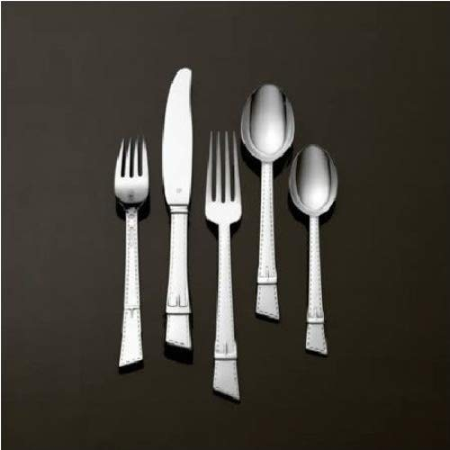 Vera Wang Equestrian Stainless Steel Flatware, 5 Piece Place -