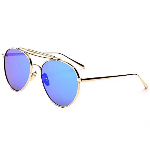 IPOLAR GSG800012C1 New Style PC Lens Metal Sunglasses,Metal Frames - Sunglasses Dvb Sunglasses Style Aviator