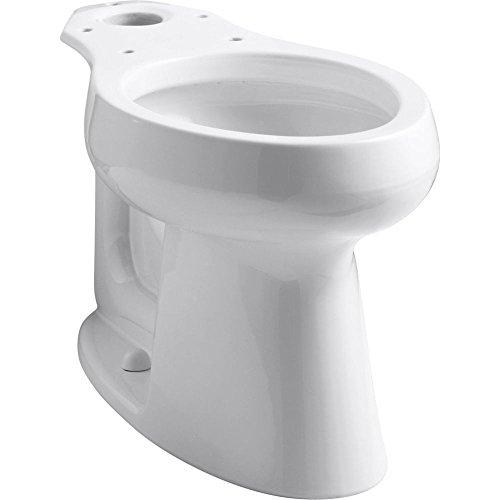 Kohler K-4199-0 Highline Comfort Height Elongated Bowl, White (0 White Highline Elongated Bowl)