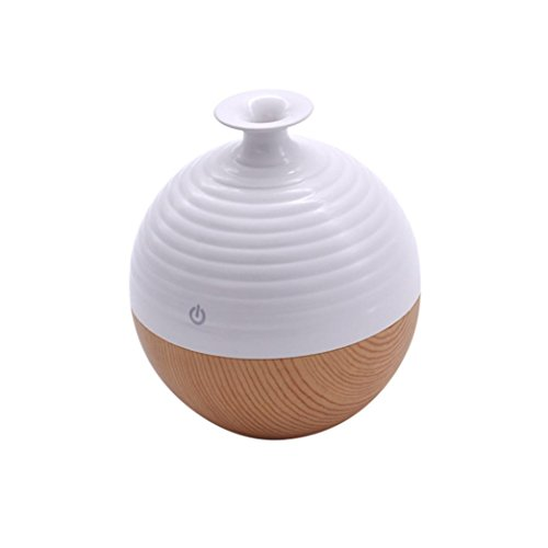 SoadSight Yrd Tech Anti Dry Atomization Humidifier Cool Mist Humidifier Ultrasonic Aroma Essential Oil Diffuser for Office Home Bedroom Living Room (C) by SoadSight