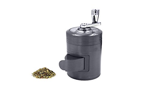 AIMAKE-New-Design-Herb-Weed-Spice-4-Piece-Large-2-Inches-Mills-Grinder-with-Mill-Handle-Pollen-Catcher