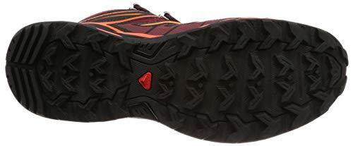 Tomato 3 Mid Ultra Tangelo Salomon Cherry Red Men's Dahlia Aero Shoes X Hiking PwqTAT4Ff