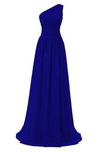 royal blue bridesmaid dresses - 3