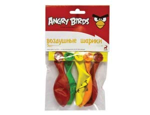 5 Inflatable Balloon Angry Birds for a Holiday