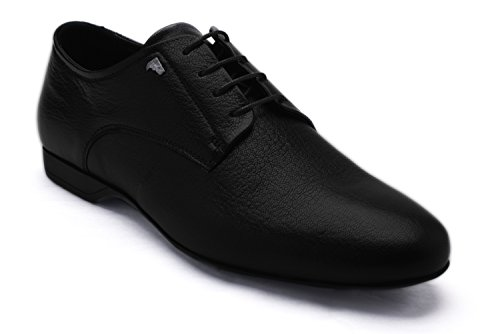 Versace-Collection-Mens-Black-Leather-Oxford-Shoes