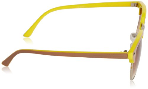 Icon (Consignment) - Cairo - Lunettes de soleil Mixte Brown/Yellow