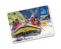 OARS Whitewater Rafting Gift Card ($200)