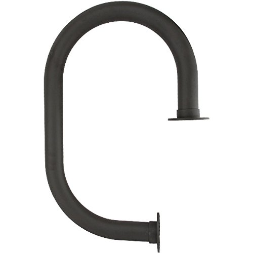 Classic Service Bar Rail - Oil Rubbed Bronze - 2'' Outside Diameter by KegWorks