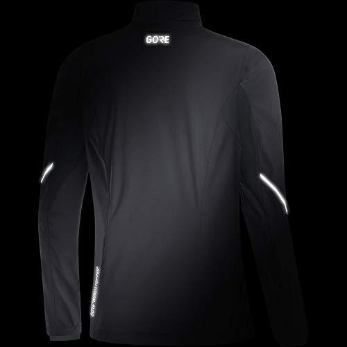 Gore Women's R3 Wmn Partial Gws Jacket,  terra grey/black,  XS by GORE WEAR (Image #4)