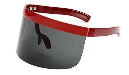 du Lennon inspirées rond vintage soleil cercle Rouge polarisées retro style métallique lunettes de Cadre en qgtZK81w8I