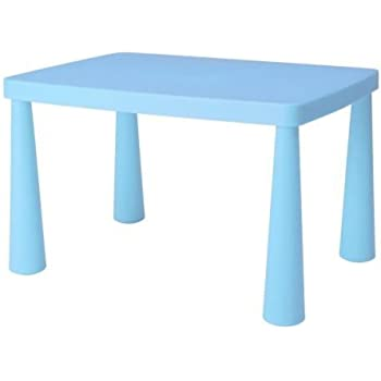 Amazon Com Ikea Mammut Blue Kid S Children S Table