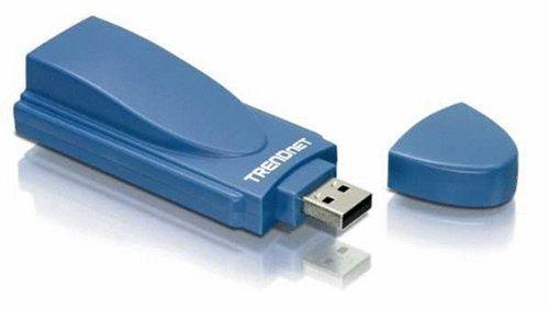 TRENDnet 56K USB Data/Fax/TAM Modem TFM-560U (Blue)