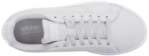 Advantage adidas One Women's Sneakers White Cl Grey Cf One Grey Hr7EqUHxw