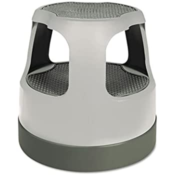Amazon Com Scooter Stool Round 15 Quot Step Amp Lock Wheels