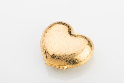 HEART PURSE - Women Ladies Girls Bag Handbag Shoulder Gold Metal Fashion Evening