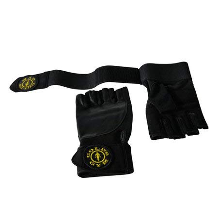 Gold's Gym Wrist Wrap Glove with Adjustable