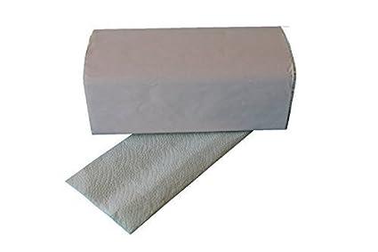 3750 Toallas Plegables 2 capas 25 x 23 cm Verde Claro ZZ veces Toallitas de papel