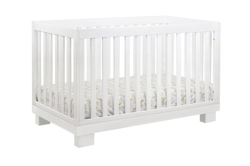 Babyletto Modo 3-in-1 Convertible Crib with Toddler Bed Conversion Kit, White by babyletto