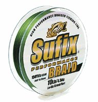 Sufix Performance Braid 10 lb (Yellow, Size- 300 YD Spool)