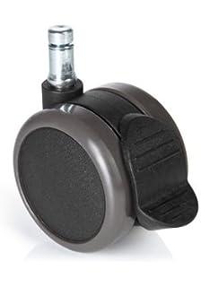 Bloccare Ruote Sedia Ufficio.Akrcing Pro Casters Con Blocco Set 5 Ruote Nero Materiale