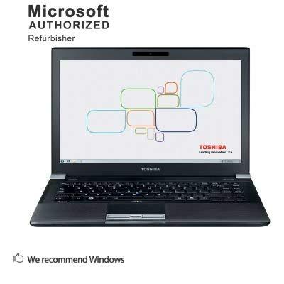TOSHIBA Tecra R940 14 Inch Laptop , Intel Core i3 3110M 2.4GHz, 8G DDR3, 240G SSD, DVD, WiFi, VGA, DisplayPort, USB 3.0, Windows 10 64 Bit-Multi-Language, English / Spanish / French(CI3)(Renewed)