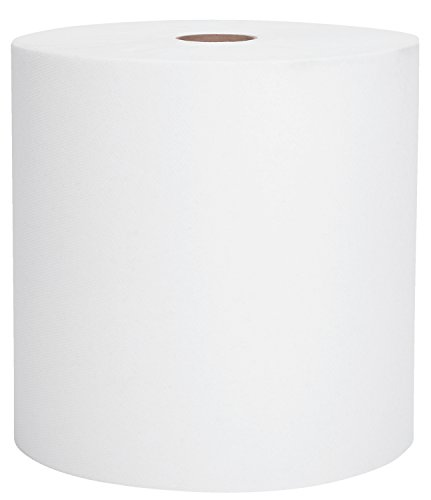 Kimberly Clark Scott Hard Roll (Kimberly-Clark Professional 01000 Scott Towels with 12 per Case, High Capacity, Hard Roll, White)