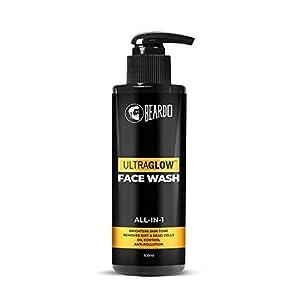 Beardo Ultraglow Face Wash for Men | Brightens & Balances Skin Tone | Reduces Dark Spots & Hyperpigmentation| Daily use…