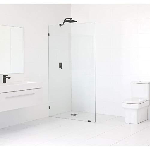 - Glass Warehouse 78-inch x 36-inch Frameless Shower Single Fixed Panel