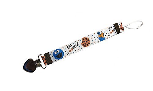 - Cookie Monster Pacifier Holder