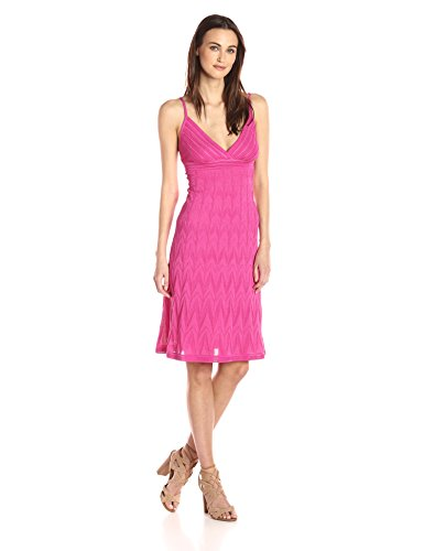M Missoni Women's Solid Zig Zag Dress, Aw Pink EUR for sale  Delivered anywhere in USA