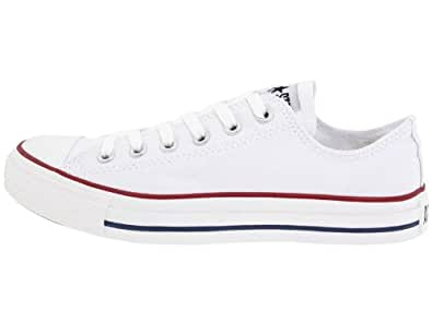 Converse All Star OX Men's Sneakers Style# M7652 (5 Mens 7 Womens US, White)