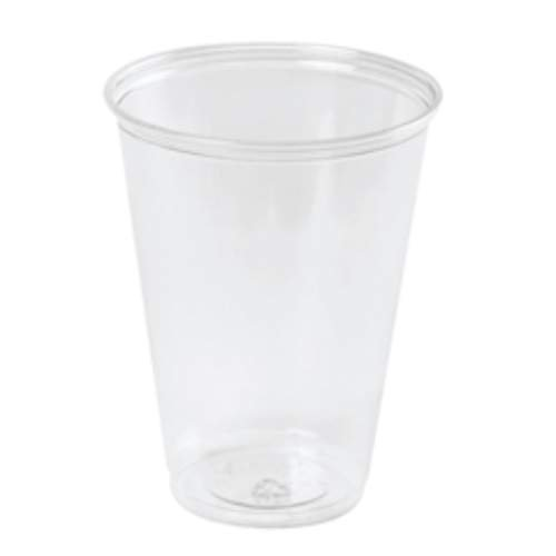 "Dart 5C 2.8"" Top and 1.5"" Bottom Diameter, 2.8"" Height, 5 oz Clear Conex Cold Cup (25 Packs of 100)"