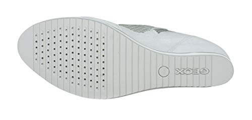 White Mujer Altas D Para Zapatillas Geox B Off Illusion Iq8xB1AwY
