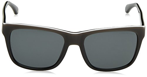 Gradient Sonnenbrille White Black Armani EA4041 On Emporio Black 5tIw1