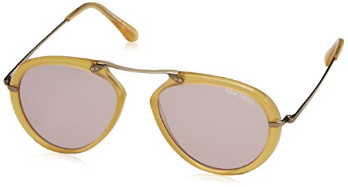 Sunglasses Tom Ford TF 473 FT0473 39Y shiny yellow / - Ford Outlet Tom