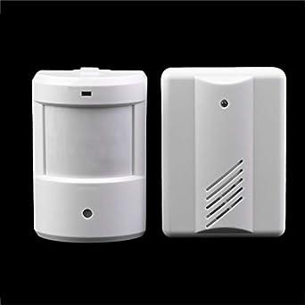 Nueva entrada de coches Patrulla Infrarrojo Infrarrojo Timbre inalámbrico Sistema de alarma Sensor de movimiento Alarma