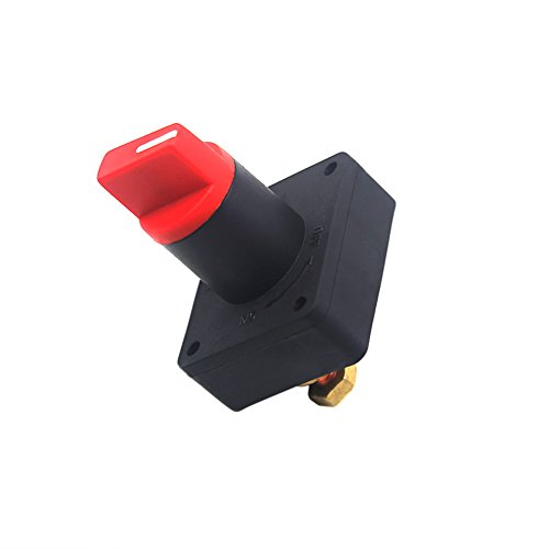 Ninth-City Car Van Truck Boat Battery Power Disconnect Rotary Isolator Kill ON OFF Switch 300A