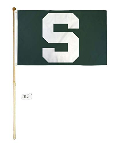 American Wholesale Superstore 3x5 3'x5' MSU Michigan State University Spartans Green S